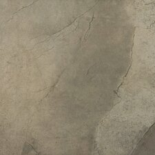 "St Moritz 18"" x 18"" Glazed Floor Porcelain Tile in Olive"