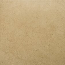 "St Moritz 12"" x 12"" Glazed Floor Porcelain Tile in Tan"
