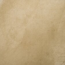 "St Moritz 18"" x 18"" Glazed Floor Porcelain Tile in Tan"