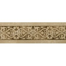 "<strong>Emser Tile</strong> Natural Stone 12"" x 4"" Macabi Travertine Stained Listello"
