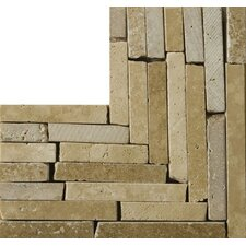 "<strong>Emser Tile</strong> Natural Stone 4"" x 4"" Melina Travertine Listello Corner"