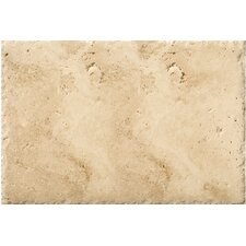 "Natural Stone 16"" x 24"" Chiseled Travertine Field Tile in Umbia Savera"