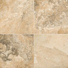 "Natural Stone 8"" x 8"" Chiseled Travertine Field Tile in Philadelphia"