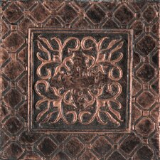 "<strong>Emser Tile</strong> Camelot 2"" x 2"" Igraine Dot in Copper"