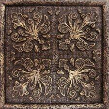 """Camelot 4"""" x 4"""" Merlin Deco in Bronze"""