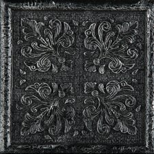 "<strong>Emser Tile</strong> Camelot 4"" x 4"" Merlin Deco in Iron"