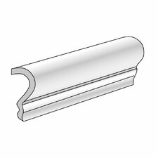 "Genoa 7"" x 2"" Counter Rail Tile Trim in Campetto"