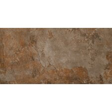 "Bombay 12"" x 24"" Glazed Porcelain Tile in Salsette"