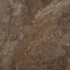 "Granada 18"" x 18"" Glazed Porcelain Tile in Copper"