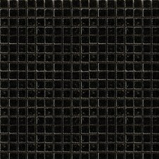 "Absolute Black 12"" x 12"" Polished Granite Mosaic in Black"