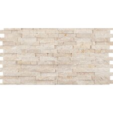 Hamlet Antique Tumbled Travertine Mosaic in Beige