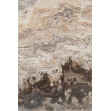 "Trav Chiseled  24"" x 16"" Chiseled Travertine Tile in Multicolor"