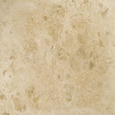 "Trav Pendio 12"" x 12"" Travertine Tile in Beige"