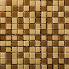 Lucente Glossy Mosaic Blend in Amber / Honey