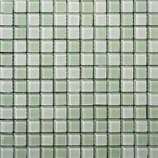 Lucente Glossy Mosaic Blend in Crystalline / Cascade