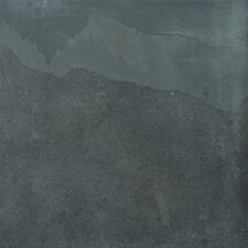 "<strong>Emser Tile</strong> Natural Stone 12"" x 12"" Calibrated Slate Tile in Brazilian Black"