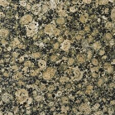 "Natural Stone 12"" x 12"" Granite Tile in Baltic Brown"