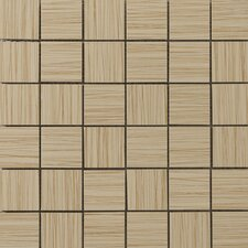 Strands Mosaic Tile in Biscuit