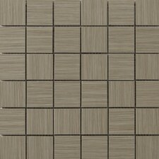 "Strands 12"" x 12"" Mosaic Tile in Olive"