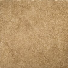 "Genoa 16"" x 16"" Glazed Porcelain Floor Tile in Campetto"