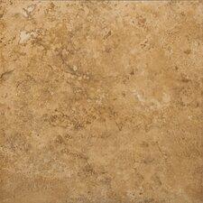 """Odyssey 13"""" x 13"""" Glazed Ceramic Floor Tile in Noce"""