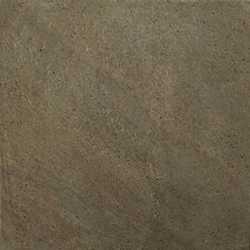 "Natural Stone 12"" x 12"" Honed Slate Field Tile in Copper"