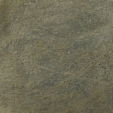 "Natural Stone 16"" x 16"" Honed Slate Field Tile in Golden Green"