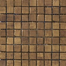 Treasure Metal Coated Travertine Mosaic in Find