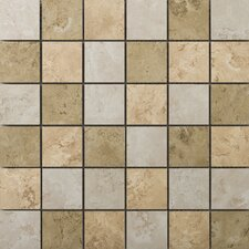 Cordova Glazed Ceramic Mosaic Blend in Multicolor