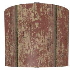 "11"" Weathered Wood Drum Shade"