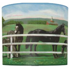 "11"" Saddle Up Drum Shade"