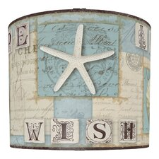 "11"" Beach Journal Drum Shade"