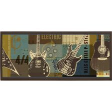 <strong>Illumalite Designs</strong> Guitar Collage Wall Plaque