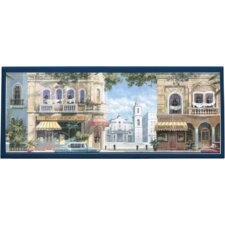 <strong>Illumalite Designs</strong> Havana Street Scene Wall Plaque