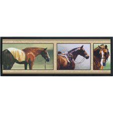 <strong>Illumalite Designs</strong> Horse Snapshots Wall Plaque