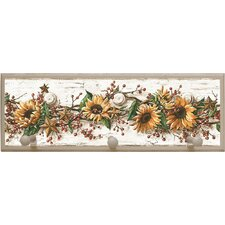 <strong>Illumalite Designs</strong> Sunflowers Plaque