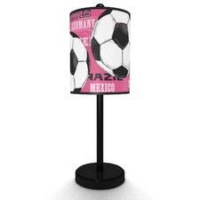 Soccer Balls Table Lamp