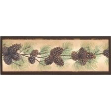 Pine Cone Framed Graphic Art