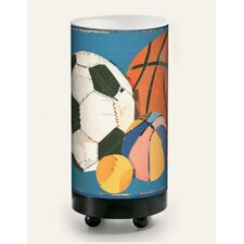 Old Time Sports Balls Table Lamp