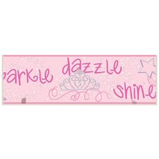 Sparkle Dazzle Shine Wall Plaque