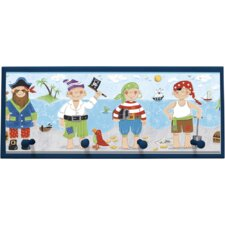 Pirates Framed Painting Print
