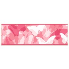 Butterfly Collage Graphic Art on Plaque