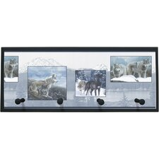Wolf Pack Wall Plaque