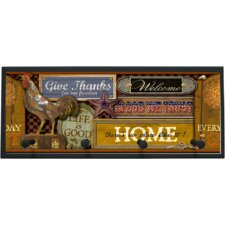 Nostalgic Americana Framed Graphic Art