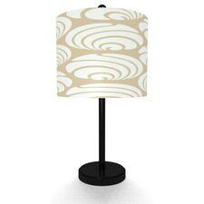 Swirl Geo Table Lamp