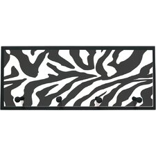 Zebra Framed Graphic Art