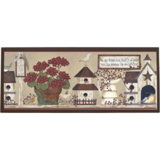 Inspirational Garden Wall Plaque
