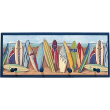 Surfing Wall Plaque