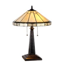 "Mission Belle 22.6"" H Table Lamp with Empire Shade"