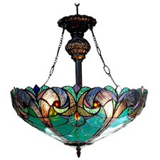 Victorian 2 Light Liaison Inverted Ceiling Pendant